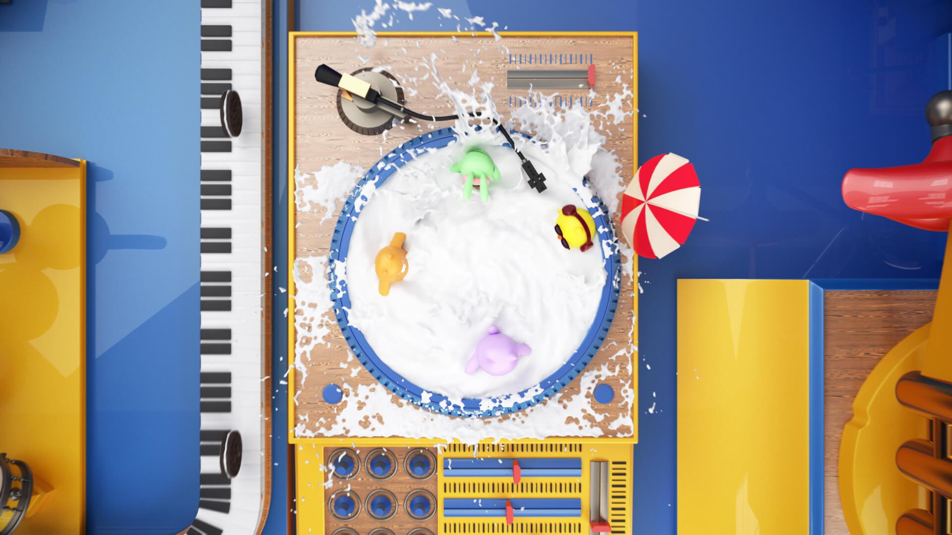 天天爱消除x奥利奥:看萌物们如何玩转奥利奥音乐工厂